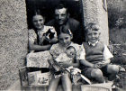 Frank and children 1955
