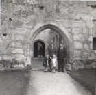 On Hoilday visiting Bodiam Castle 1964