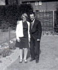 In the back garden spring 1969