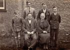 """Dec 1936 Cecil and Mabel Ansell"" and family"